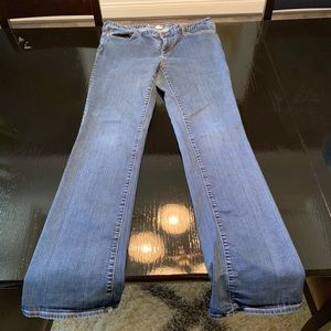 Eddie Bauer Slightly Curvy Bootcut Jeans 16 Long